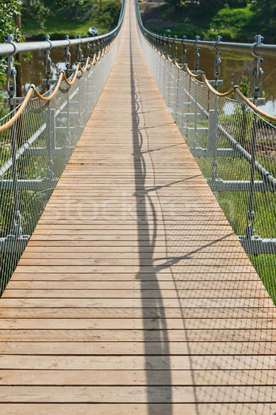 Swinging Bridge Stock photo © disorderly