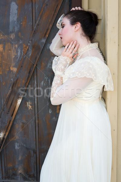 Victorian dress Stock photo © disorderly
