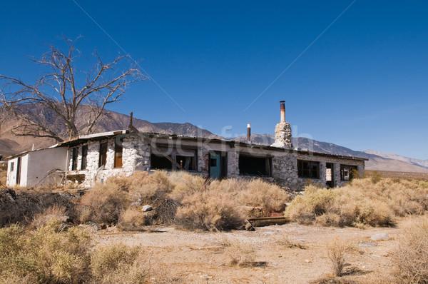 Abandoned restaurant Stock photo © disorderly