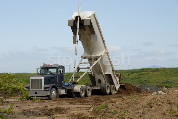 Dump truck Stock photo © disorderly
