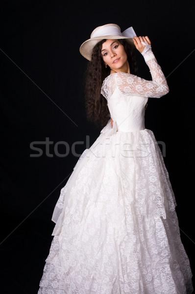 White gown Stock photo © disorderly