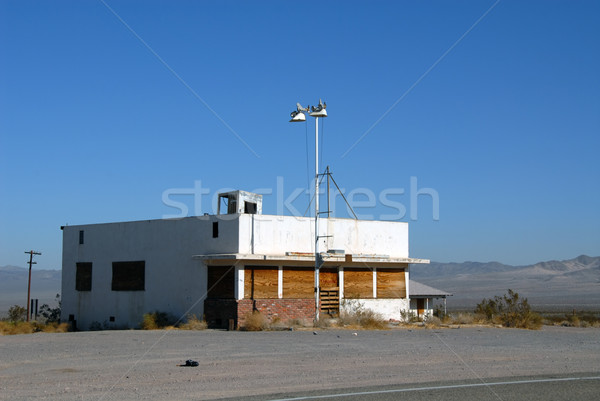 Abandoned business Stock photo © disorderly