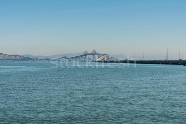 Híd pont út forgalom Stock fotó © disorderly