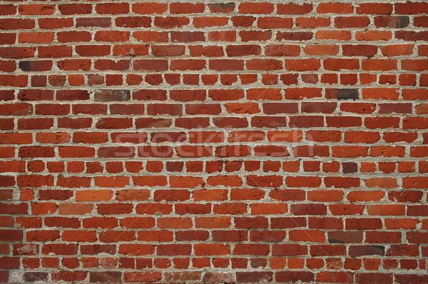 レンガの壁 古い 壁 赤 レンガ ストックフォト © disorderly