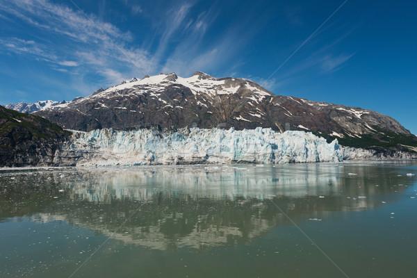 Glacier parc Alaska neige montagnes ciel bleu Photo stock © disorderly
