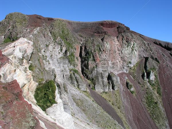 Wulkaniczny krater na północ wyspa Nowa Zelandia nowego Zdjęcia stock © disorderly