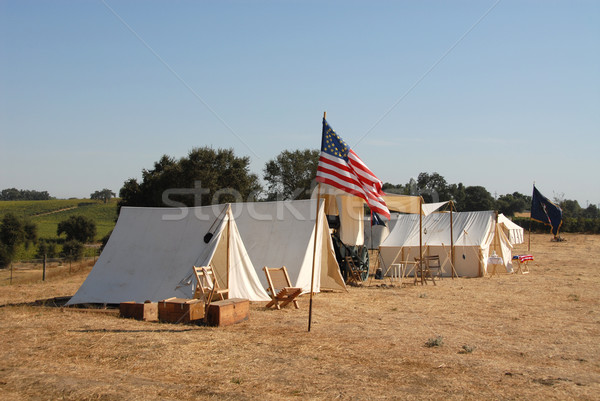 Union camp Stock photo © disorderly