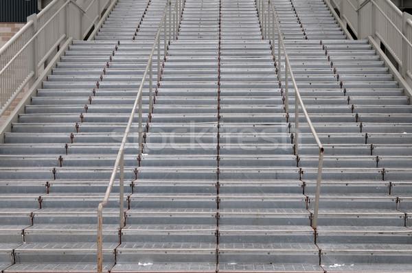 Lépcsőfeljáró hosszú sí üdülőhely gondola dél Stock fotó © disorderly