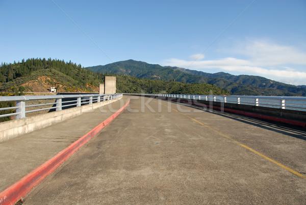 Shasta Dam road Stock photo © disorderly