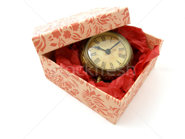 Gift of time Stock photo © disorderly