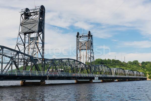 Lift bridge Stock photo © disorderly