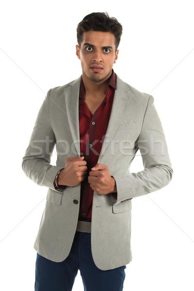Hombre guapo jóvenes indio belleza nino Foto stock © disorderly