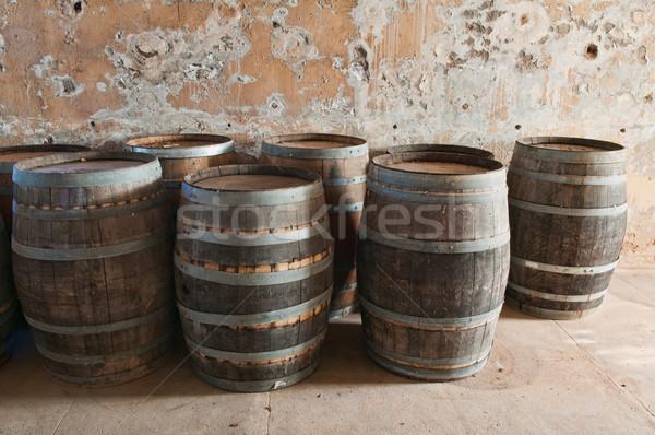 Edad sótano abandonado edificio habitación Foto stock © disorderly