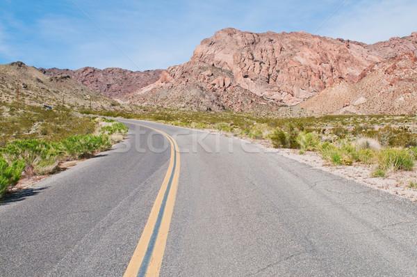 Mountain road Stock photo © disorderly