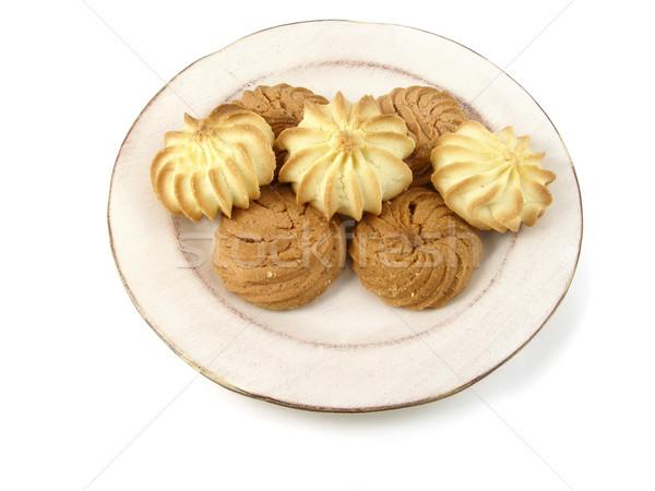 Cookies vainilla moca mantequilla aislado Foto stock © disorderly