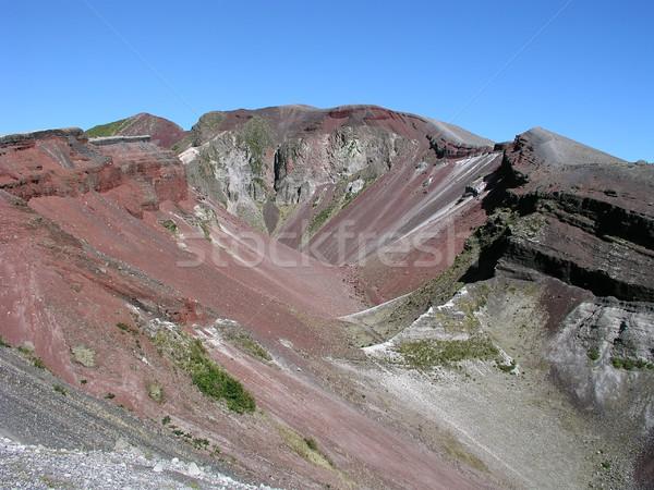 вулканический кратер север острове Новая Зеландия новых Сток-фото © disorderly