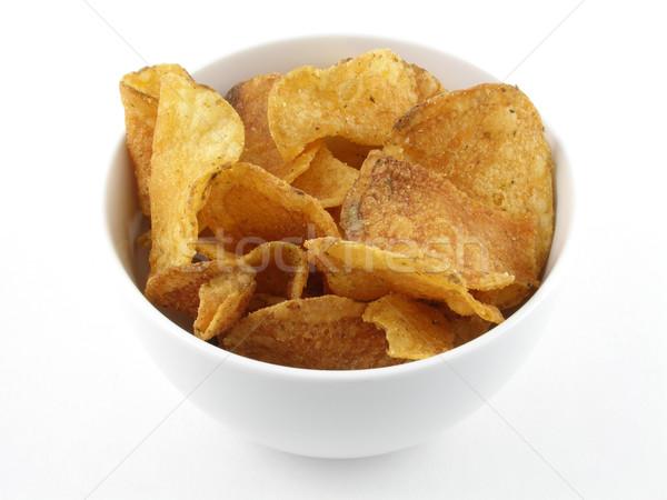 Potato chips Stock photo © disorderly