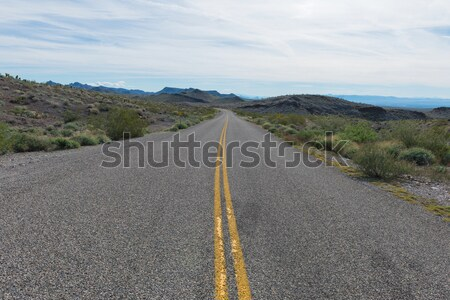 ルート66 アリゾナ州 古い 西部 砂漠 ストックフォト © disorderly