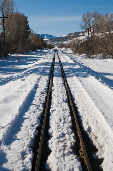 Tracks Stock photo © disorderly