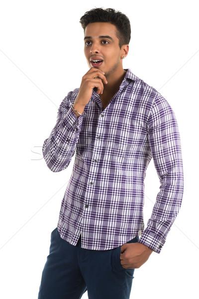 Insightful man Stock photo © disorderly
