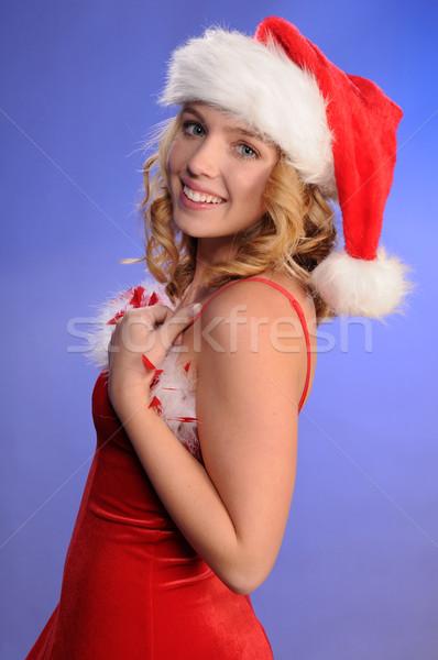 Ayudante bastante adolescente nina pelo Foto stock © disorderly