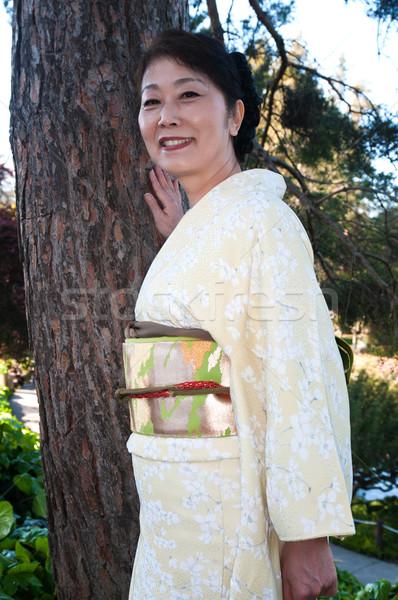Kimono Stock photo © disorderly