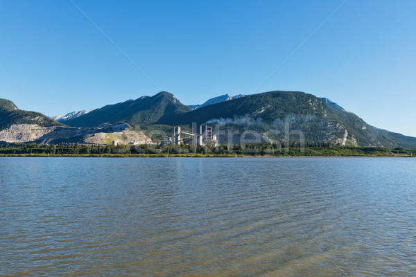 Lac des Arcs Stock photo © disorderly