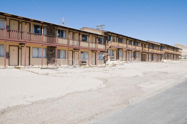 モーテル レンタル 捨てられた オフィス ルーム ネバダ州 ストックフォト © disorderly