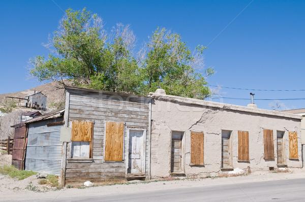 мотель аренда заброшенный служба комнату Невада Сток-фото © disorderly