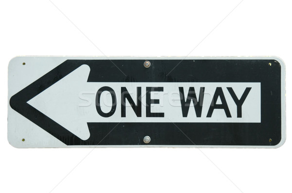 One Way Stock photo © disorderly