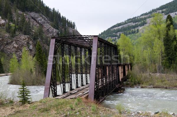 Railway bridge Stock photo © disorderly