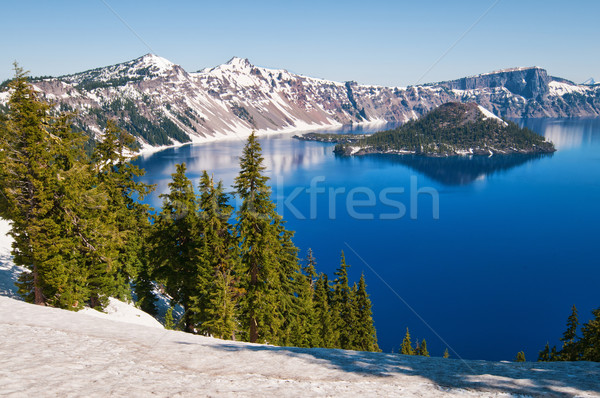 Crater Lake Stock photo © disorderly