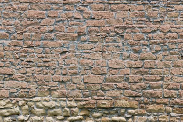 Fal öreg LA textúra épület Stock fotó © disorderly