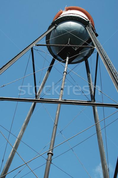 Víz torony helyhatósági raktár Stock fotó © disorderly