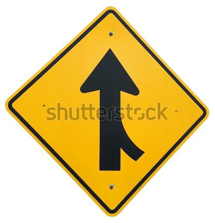 Forgalom grafikus fém autópálya Stock fotó © disorderly