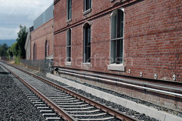 Train station & tracks Stock photo © disorderly