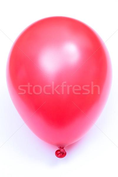 Ballon partij leuk Rood speelgoed kleur Stockfoto © djemphoto