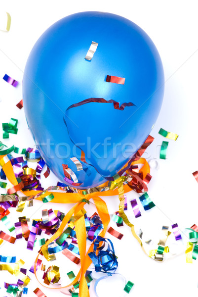 Ballon and confetti Stock photo © djemphoto