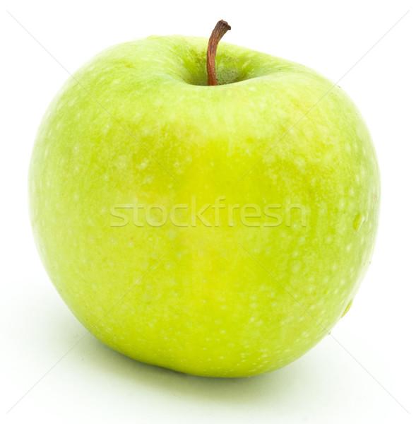 Zöld alma gyümölcs növény eszik friss Stock fotó © djemphoto