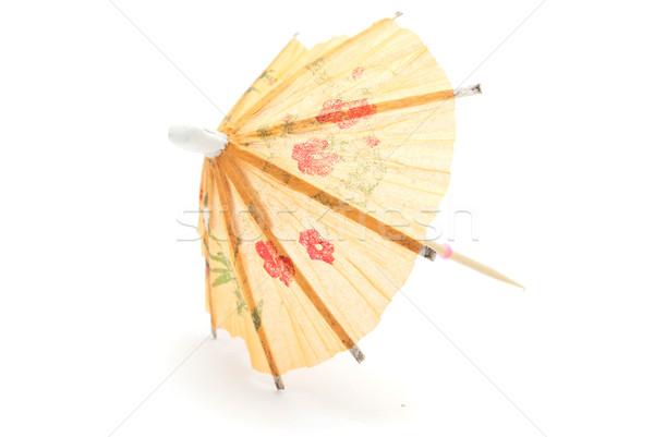Cocktail paraplu textuur tropische patroon japans Stockfoto © djemphoto