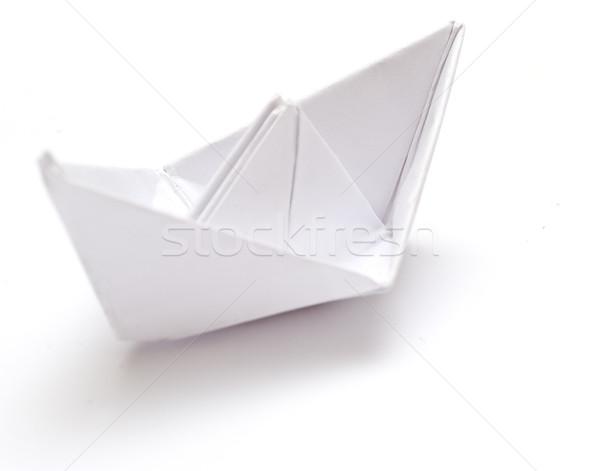 Paper ship Stock photo © djemphoto