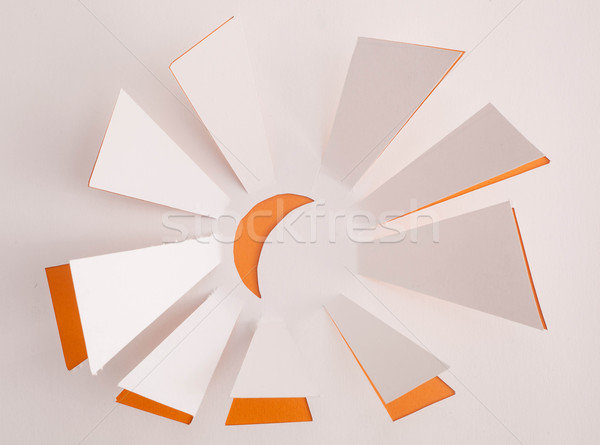 Sun origami Stock photo © djemphoto