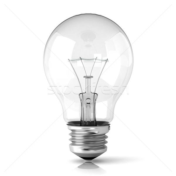 Light bulb. 3D Stock photo © djmilic