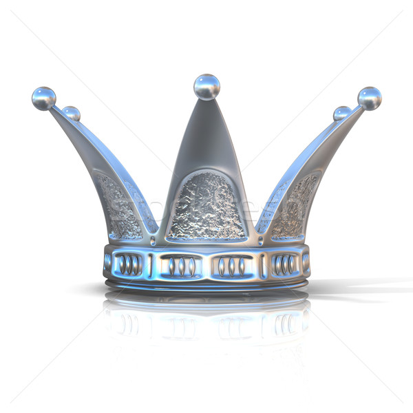 Silver crown Stock photo © djmilic