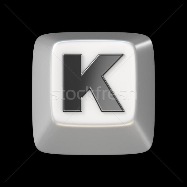 Сток-фото: ключевые · шрифт · письме · 3D · 3d · визуализации