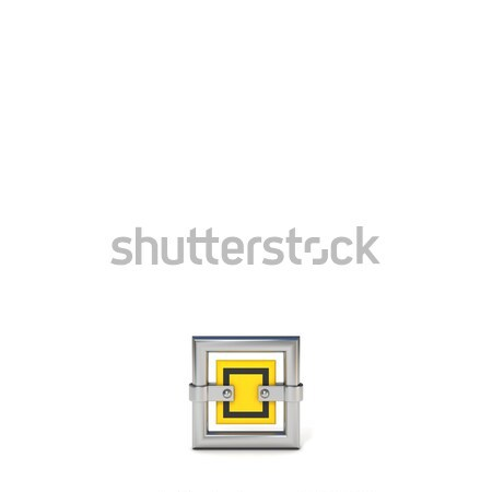 Framed traffic road sign PERIOD 3D Stock photo © djmilic