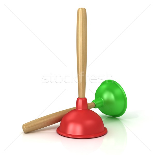 Two plungers Stock photo © djmilic