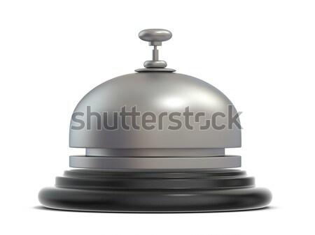 Recepcji dzwon widok z boku 3D 3d ilustracja Zdjęcia stock © djmilic