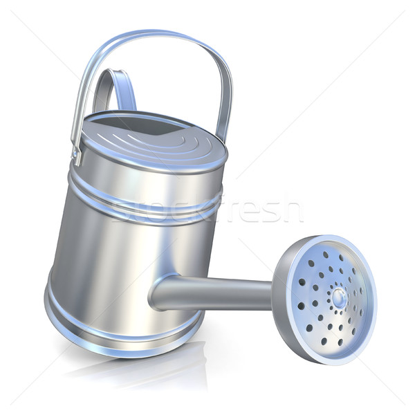 Metal watering can 3D Stock photo © djmilic