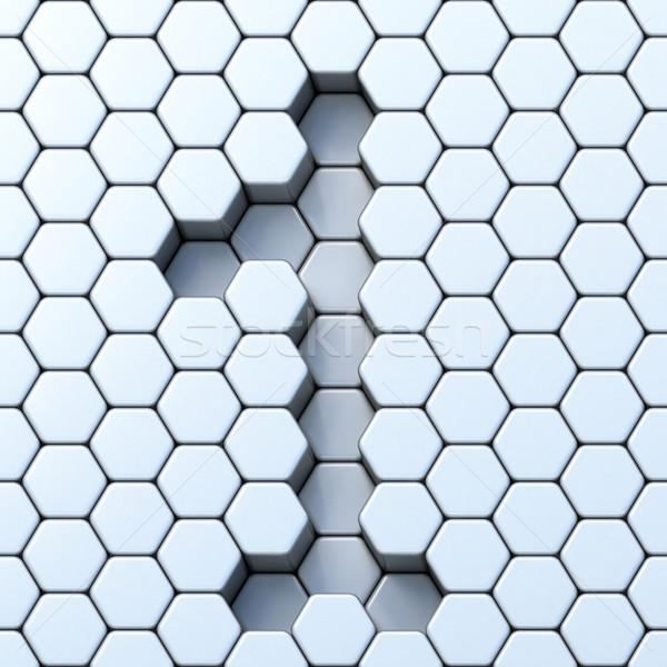 Grille 3D rendu 3d illustration texture Photo stock © djmilic